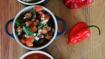 Trio of Mexican salsas