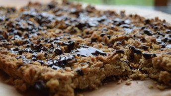Vegan Fruit Flapjacks